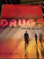 Psychology: Drugs & Behaviour University text book