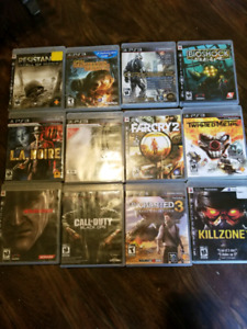 PS3 GAMES FOR SSLE