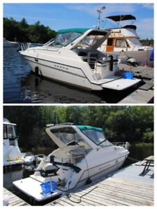 Well Maintained Upgraded 1998 Maxum 2800SCR Solar Cruiser Boat