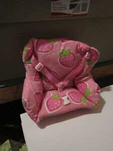 """Backpack to carry an 18"""" doll"""