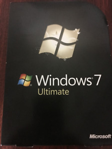 Another Windows 7 Ultimate Retail DVD 32-Bit and 64-Bit