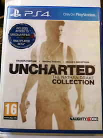 Ps4 Game Uncharted The Nathan Drake Collection