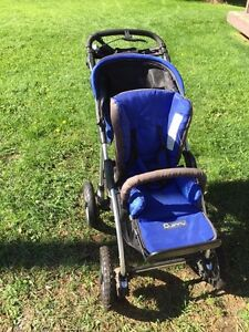 Quinny Stroller with Car Seat