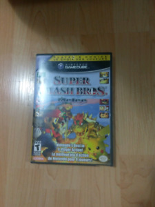 Super Smash Bros Melee - Case and Disc - Gamecube