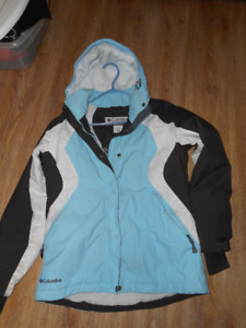size small ladies columbia winter jacket