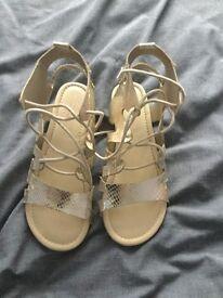 Girls Next Gold Sandals