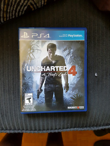 Uncharted 4 for ps4/ pour ps4