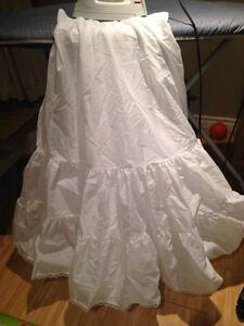 David's Bridal Ball gown style crinoline