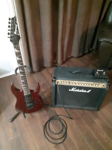 Guitare et ampli ¤ ECHANGE ¤