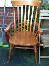 Larger carver chair