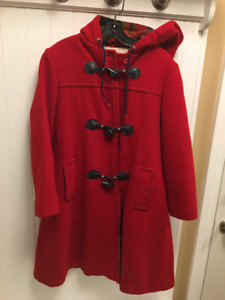 Marks and Spencer Wool Coat with Hood