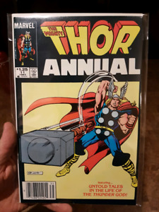 Lot of THOR Comics Annual #8-11 VG