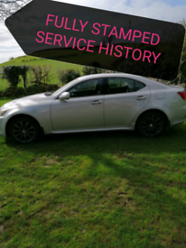 LEXUS IS220D FULL SERVICE HISTORY PART EXCHANGE CONSIDERED