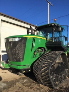 JOHN DEERE 9560R WITH ATI TRACKS