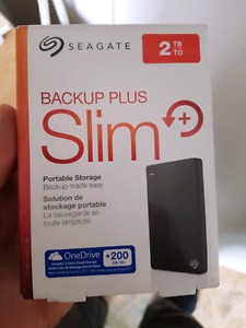 Seagate 2 TB extrenal hardrive