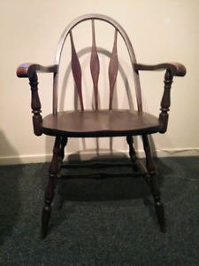 Antique windsorback chair