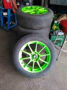Sparco wheels for Subaru Outback
