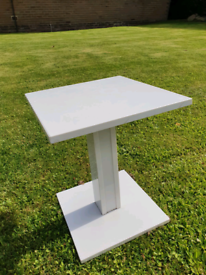 Solid White Marble coffee table £25