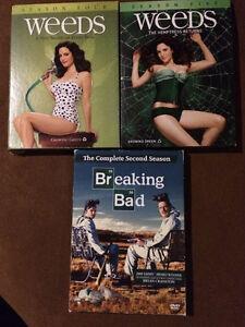 DVD Weeds and Breaking Bad full seasons