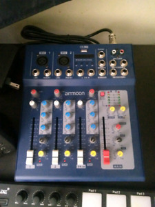 2 channel mixer