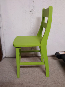 Vintage Chalk Painted Chair