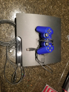 PS3 320GB 1 Controller 9 Games