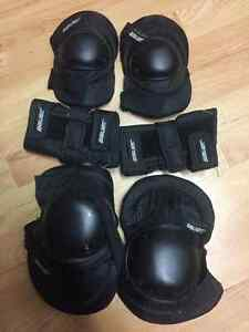 Used Bauer Rollerblade Protection Pads