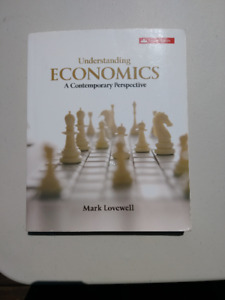 Text book: Understanding Economics A Contemporary Perspective
