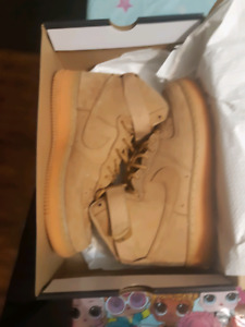 NIKE AIR FORCE 1 FLAX HIGH SIZE 10 MENS