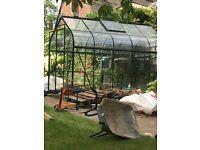 Halls greenhouse 10 foot X 6 foot