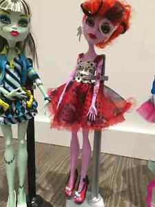 3 MONSTER HIGH DOLLS USED West Island Greater Montréal image 3