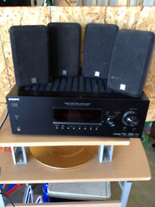 Surround Sound Stereo System with 4 speakers