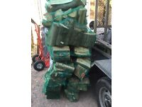 Bags of firewood / logs for sale