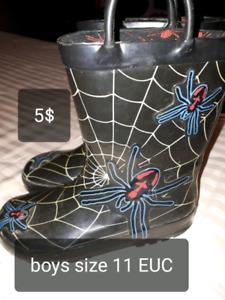 Boys boots/winter EUC