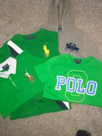 POLO Ralph Lauren Boys Age 7 kids designer hoody
