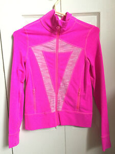 Ivivva Athletica Pink Zipper Jacket