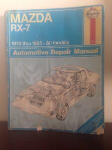 RX-7 Shop Manual