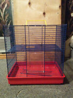 Small Animal Cage for Hamsters, Gerbils, Mice Watch|Share |Print