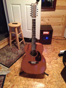Martin 12 String with case