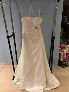 Never worn wedding dress - with tags