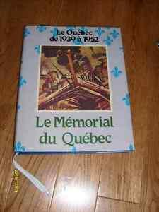 Livre Le Québec de 1939 à 1952