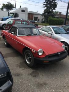1976 MG MGB Super Rare