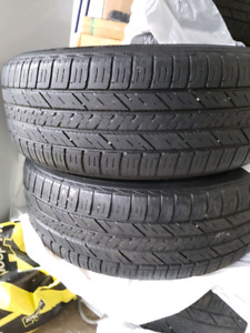 Tyres with Rim make: Good Year size: 215 65R16 qty: 4