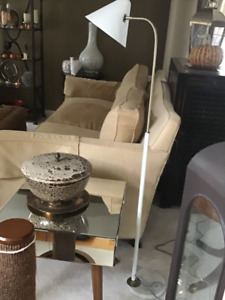 Brand New Restoration Hardware Brass & Marble Floor Lamp$175