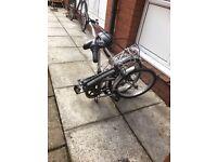 PAKKA METRO Folding bike £80