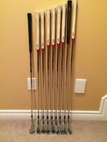 Golf Clubs - Men's Left Handed Taylor Made R9 Iron Set