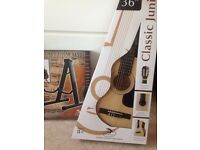 Junior guitar and stand