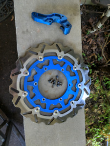 Yamaha wr450 supermoto disk brake