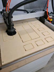 Cnc machine 1000 x 1000 with everything