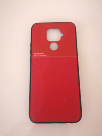 Huawei Mate 30 Lite Magnetic Case / Cover Leather Style - red